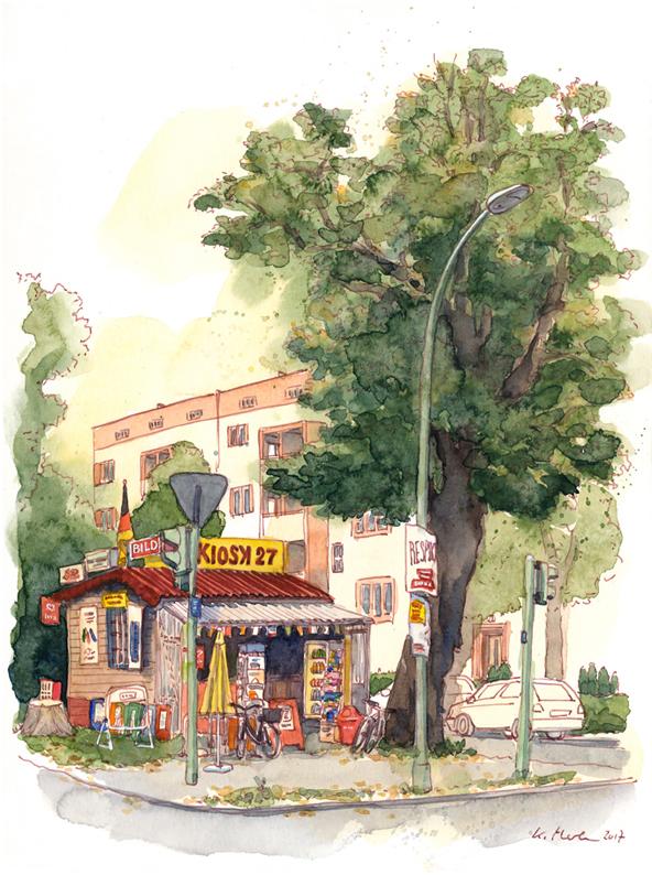 Kiosk in Berlin-Tegel