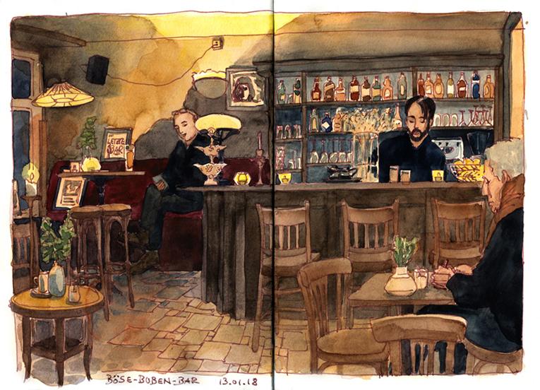 Böse-Buben-Bar, Berlin