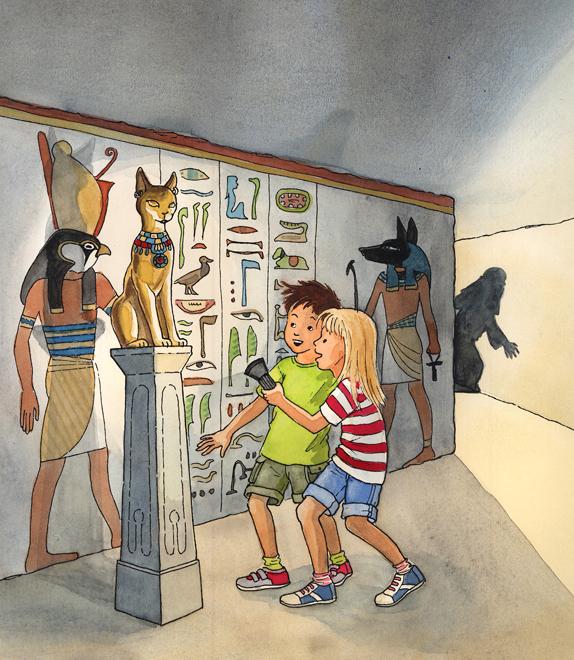"""""""Das Geheimnis der Pyramiden"""", Erstlesebuch cbj"""
