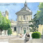 Place de la Sorbonne in Paris